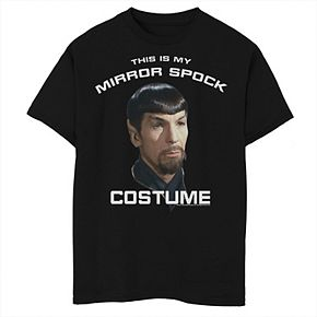 Boys 8-20 Star Trek Original Series Mirror Spock Costume Graphic Tee