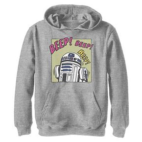 Boys 8-20 Star Wars R2-D2 Beep! Graphic Hoodie