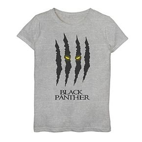 Girls 7-16 Marvel Black Panther Claw Scratch Graphic Tee