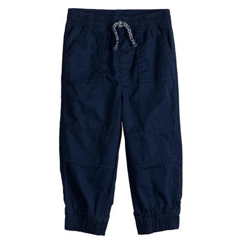 Toddler Boy Jumping Beans® Twill Jogger Pants