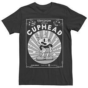 Men's Cuphead Poster Graphic Tee