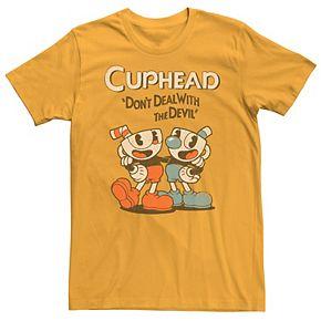 Men's Cuphead Cuphead & Mugman Graphic Tee