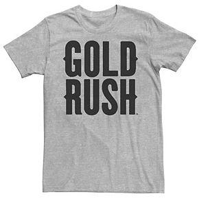Men's Gold Rush Logo Graphic Tee