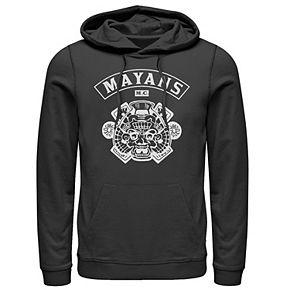 Men's Mayan Crest Graphic Hoodie