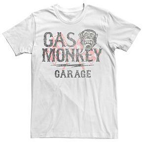 Men's Gas Monkey Garage Vintage Logo Graphic Tee