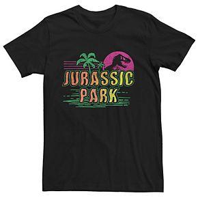 Men's Jurassic Park Vacation Graphic Tee