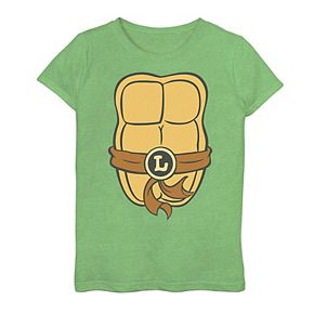 Girls 7-16 Teenage Mutant Ninja Turtles Leo Shell Graphic Tee