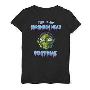 """Girls 7-16 Goosebumps """"This Is My Shrunken Head"""" Graphic Tee"""