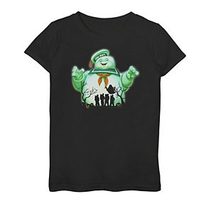 Girls 7-16 Ghostbusters Stay Puft Night Graphic Tee