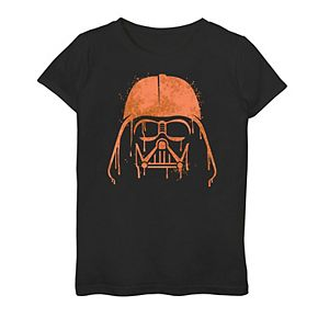 Girls 7-16 Star Wars Darth Vader Helmet Drip Graphic Tee