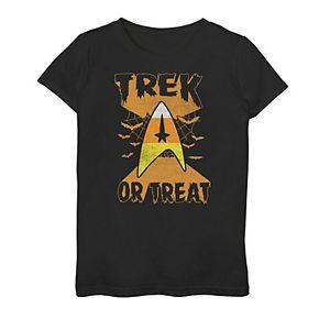 "Girls 7-16 Star Trek ""Trek or Treat"" Graphic Tee"