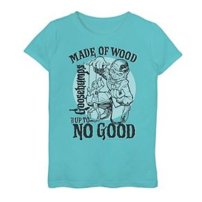 "Girls 7-16 Goosebumps ""Up To No Good"" Graphic Tee"