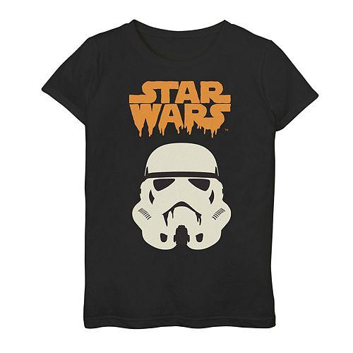Girls 7-16 Star Wars Stormtrooper Drip Logo Graphic Tee