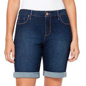Women's Gloria Vanderbilt City Cuffed Jean Shorts
