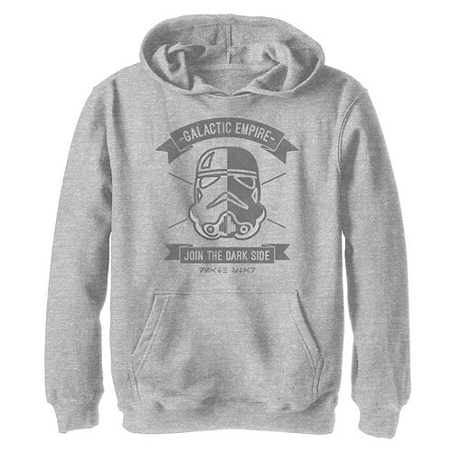 Boys 8-20 Star Wars Galactic Empire Trooper Poster Graphic Hoodie