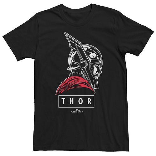 Men's Marvel Thor Ragnarok God of Tonal Street View Tee