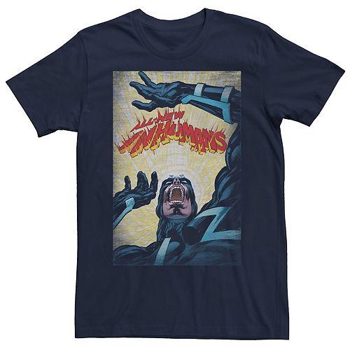 Men's Marvel Black Bolt The All-New Inhumans Cover Tee