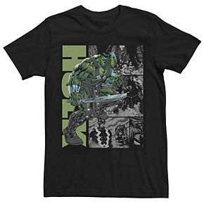 Men's Marvel Planet Hulk Metal Arm Sword Tee