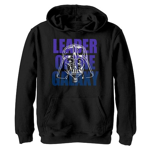 Boys 8-20 Star Wars Vader Leader Of The Galaxy Graphic Hoodie