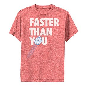 Boys 8-20 Star Wars Faster Than You Quote Graphic Performance Tee