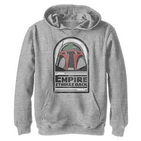 Boys 8-20 Star Wars Boba Fett Strikes Back Classic Graphic Hoodie