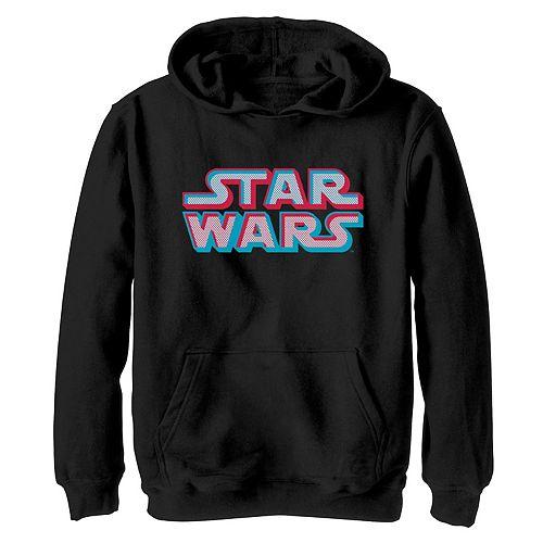 Boys 8-20 Star Wars Pop Art Logo Graphic Hoodie