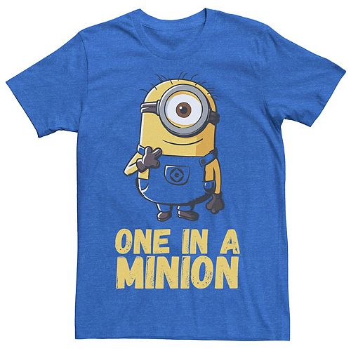 Men's Despicable Me Minions One In A Minion Tee
