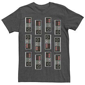 Men's Nintendo NES Controller Mash Up Tee