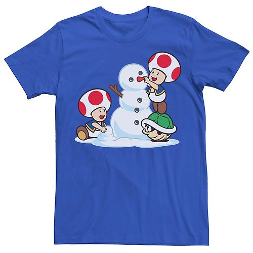 Men's Nintendo Super Mario Luigi Thumbs Up Tee
