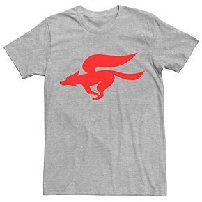 Men's Nintendo Star Fox Retro Red Logo Tee