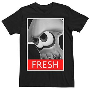 Men's Nintendo Splatoon Inkling Fresh Streetwear Tee