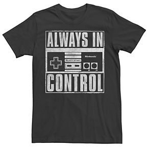 Men's Nintendo Super Nintendo Always In Control Square Tee