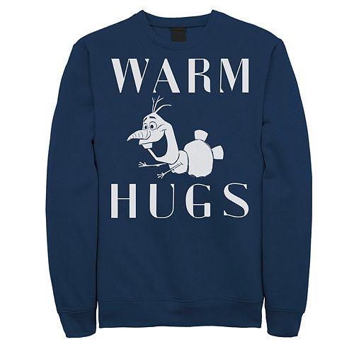 Men's Frozen 2 Olaf Warm Hugs Sweatshirt