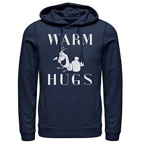 Men's Frozen 2 Olaf Warm Hugs Pullover Hoodie