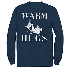 Men's Disney Froze Olaf Warm Hugs Tee