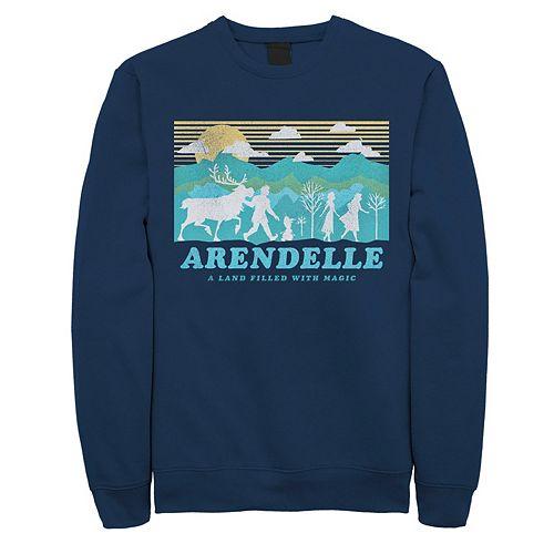 Men's Frozen 2 Arendelle Silhouette Sweatshirt