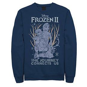 Men's Frozen 2 The Journey Connects Us Sweatshirt