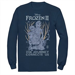 Men's Frozen 2 The Journey Connects Us Tee