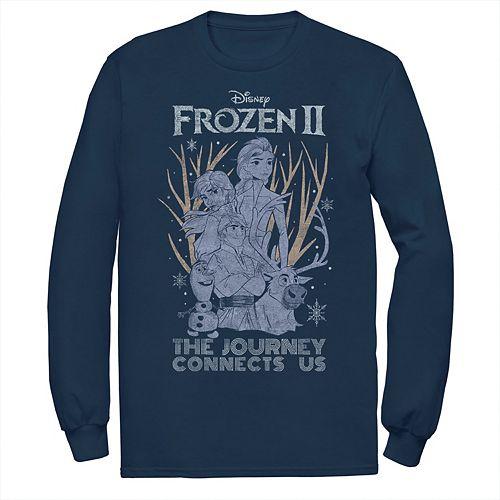 Men's Frozen 2 The Journey Connects Us Tee