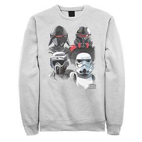 Men's Star Wars Jedi Fallen Imperial Fighter Collage Sweatshirt