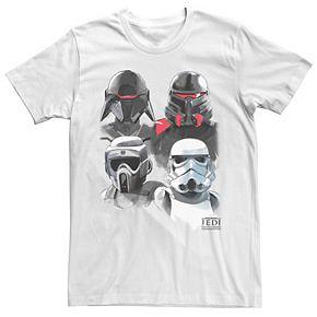Men's Star Wars Jedi Fallen Order Imperial Fighter Collage Tee