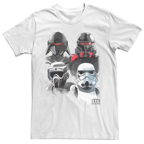 Men's Star Wars Jedi Fallen Order Imperial Fighter Collage Tee