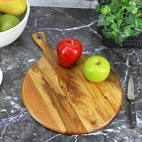 Craft Kitchen Acacia Wood Chop, Prep & Serve Board