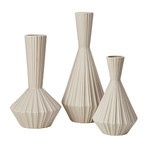 Madison Park Signature Stone Vase 3-pc. Set