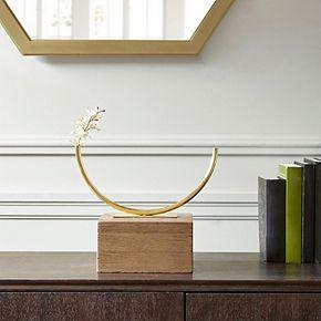 Madison Park Signature Hera Rounded Half Tube Vase