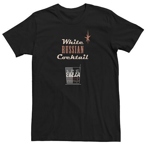 Men's Big Lebowski White Russian Tee
