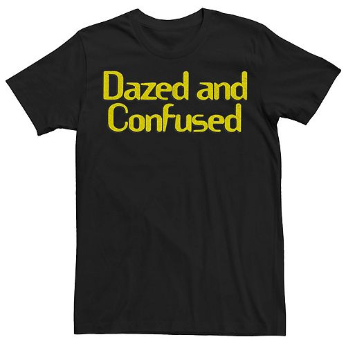 Men's Dazed and Confused Classic Distressed Logo Tee