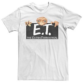 Men's E.T. Terrestrial Hanging On A Movie Logo Tee