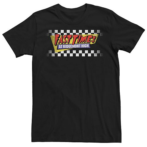 Men's Fast Times At Ridgemont High Checker Tee