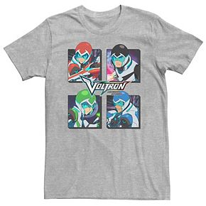 Men's Voltron: Legendary Defender Four Panel Characters Tee